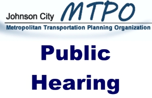 Picture of the words Public Hearing under the logo